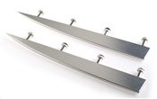Jump Fin Pair Aluminum W/ Mounting Hardware